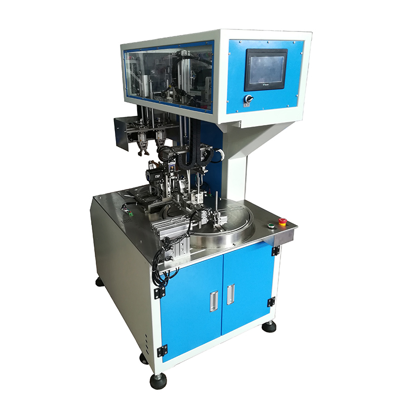 Automatic wire and cable winding binding machine